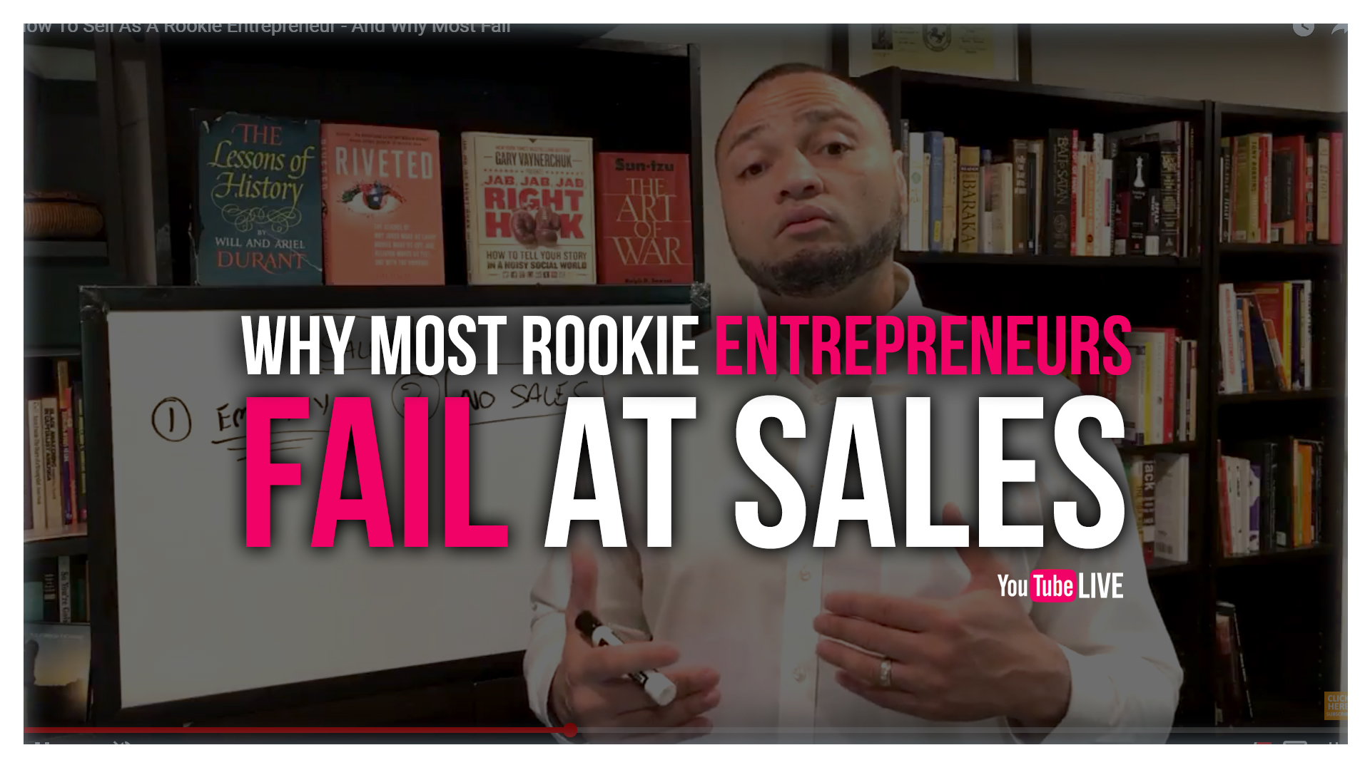 Rookie Entrpreneur Sales